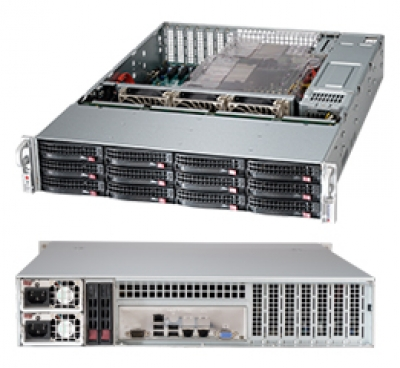 NVR SERVER PACK 12 BAY RED. PWR